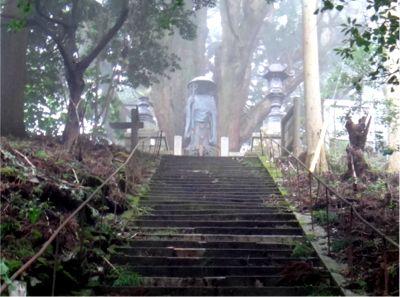 浄蓮庵の大師像